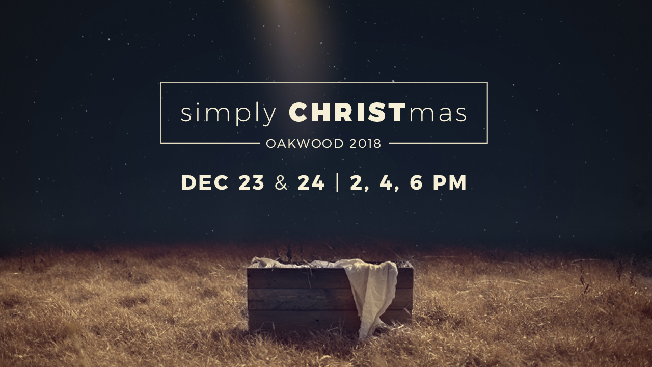 Christmas Eve Services 2018