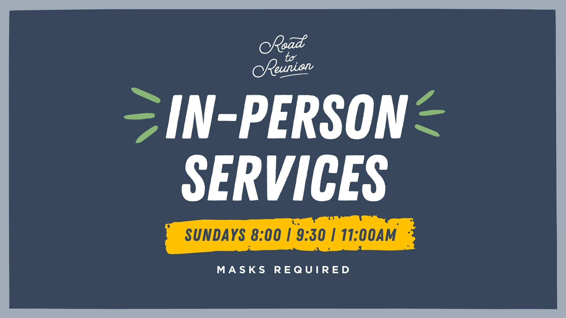 In-Person Services