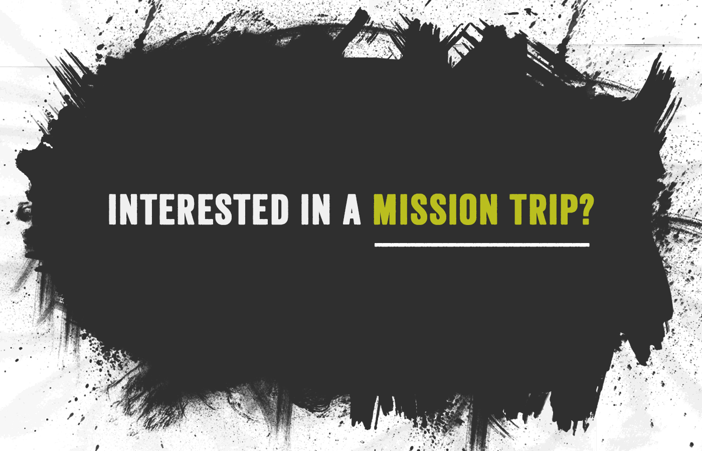 Wales Mission Trip Interest Meeting