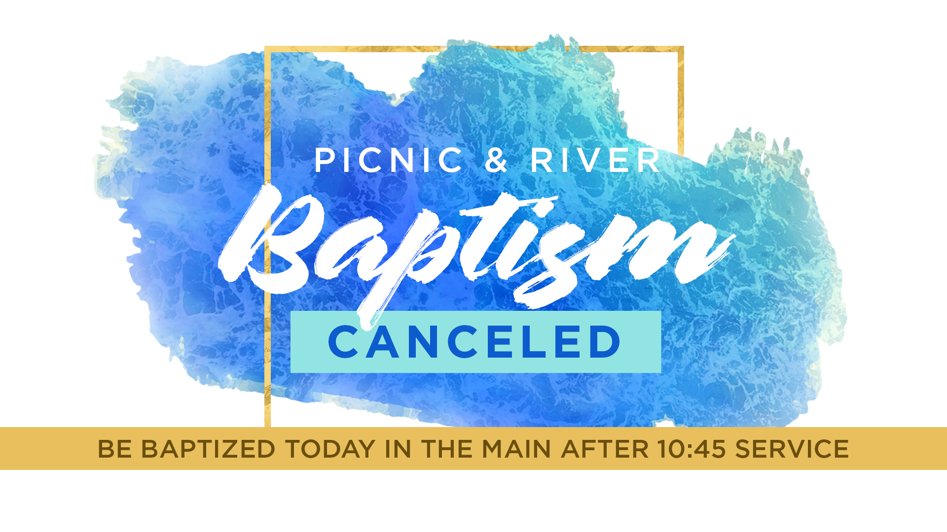 Church Picnic - Canceled Due To Weather | Oakwood Baptist