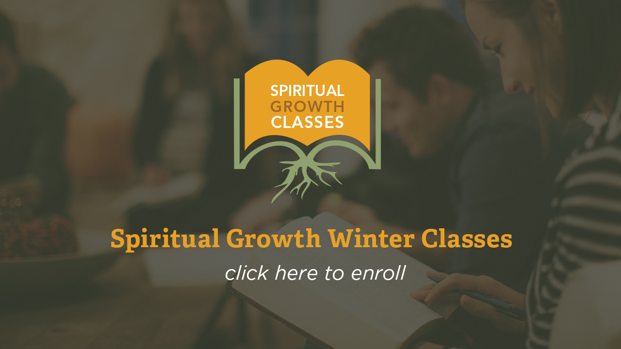 Spiritual Growth Classes Begin - Enroll Now