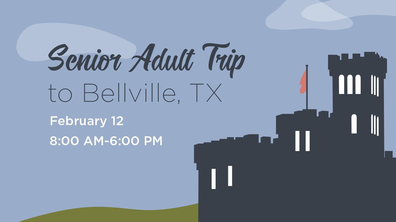 Senior Adult Trip to Bellville